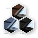 Okno dachowe Fakro FTP-V U3 78x98