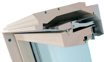 okna dachowe Fakro drewniane