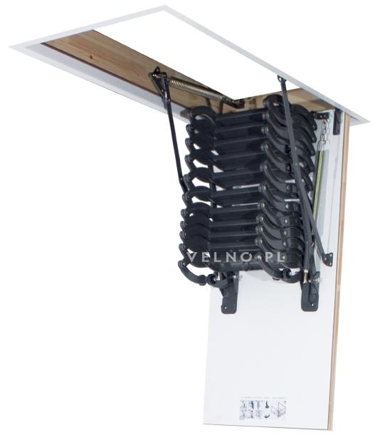 schody nożycowe Fakro LST