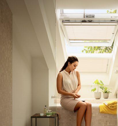 okno dachowe do łazienki