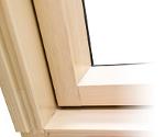 większa szczelność okien dachowych