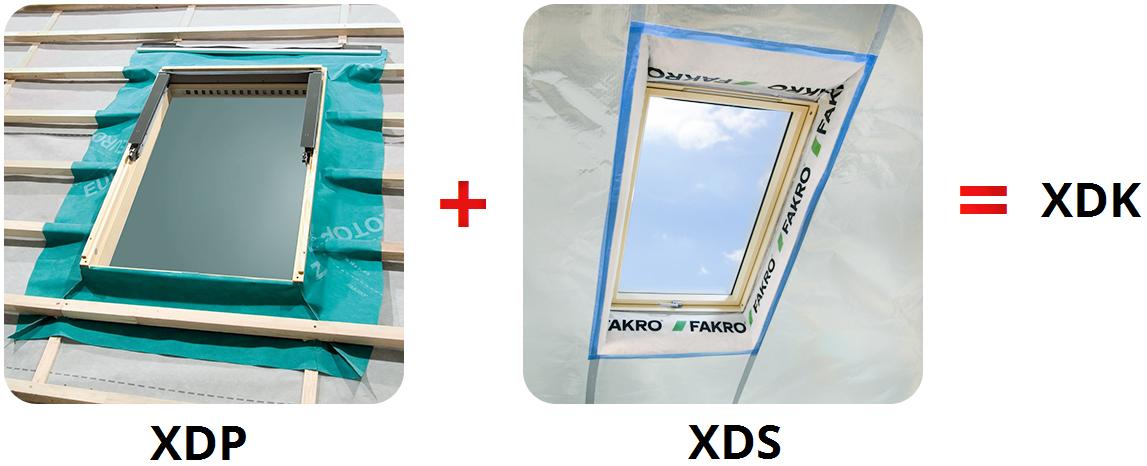 Pakiet kołnierzy izolacyjnych Fakro XDK