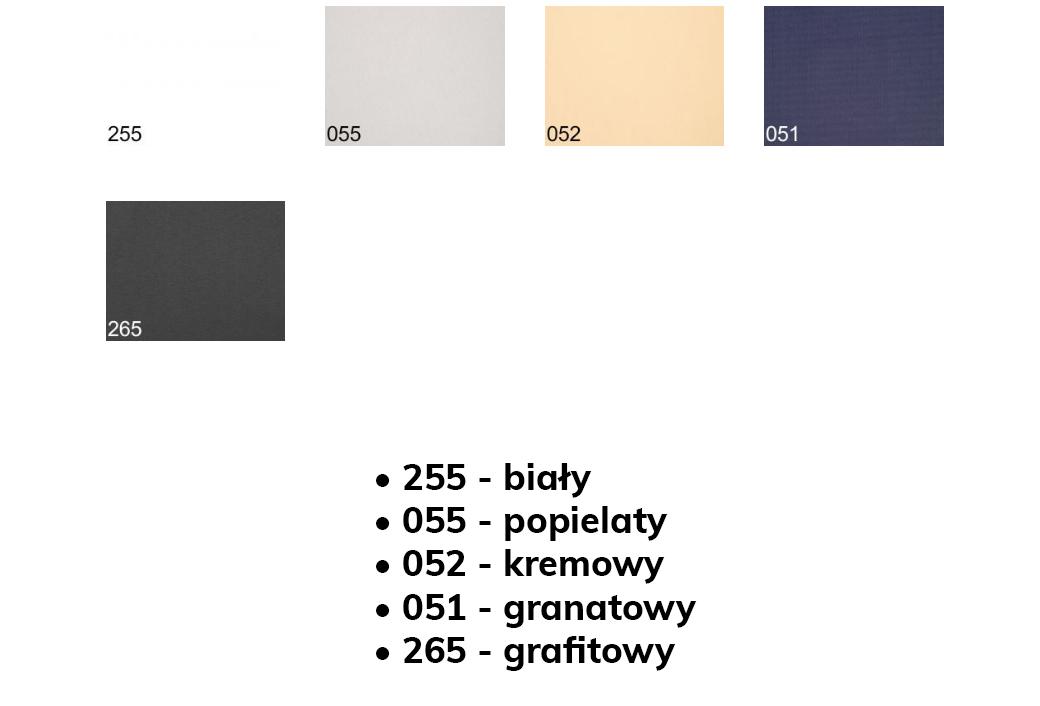 Kolorystyka rolety Fakro ARF grupa 1