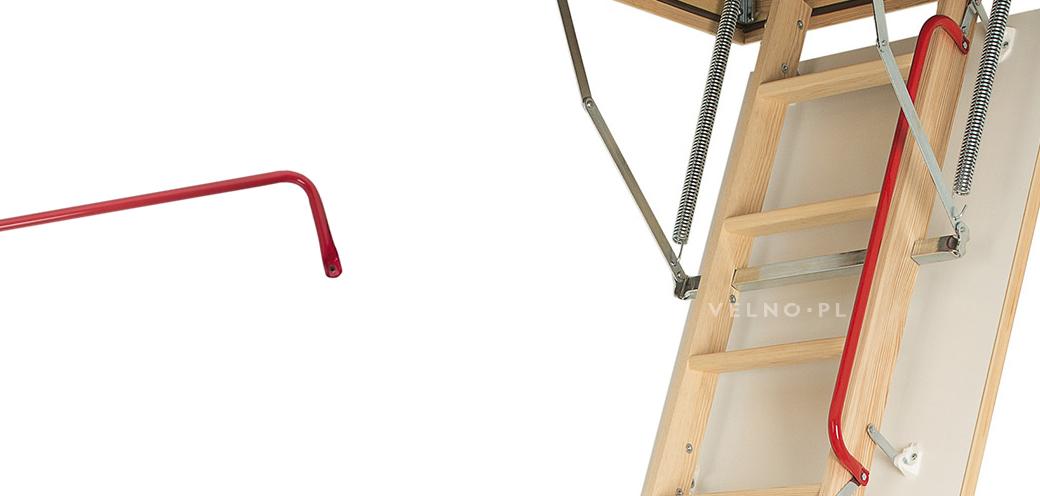 Poręcz do schodów strychowych Fakro