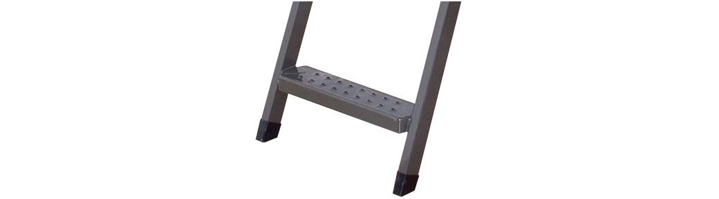 Stopki wykończeniowe do schodów metalowych LMK